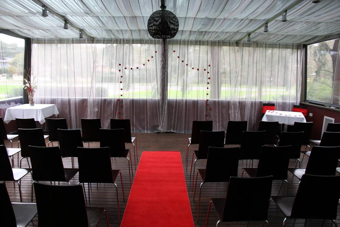 Wedding Ceremony - Conservatory